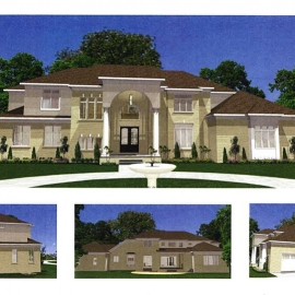 Zionsville Custom Home-Art Design
