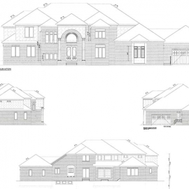 Zionsville Custom Home-Plans