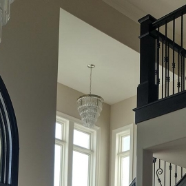 Zionsville Custom Home-Entry